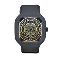 Gold Mandala Sport Watch