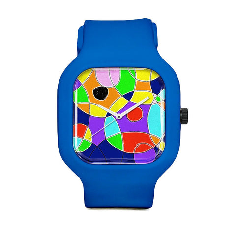 Chris's Closest Blue Figures Sport Watch