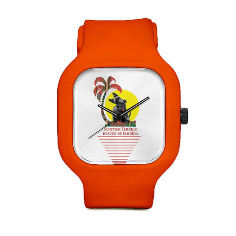 Scottish Terrier Rescue of Florida Tropics Sport Watch