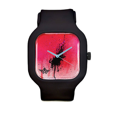 Spray Logo Sport Watch