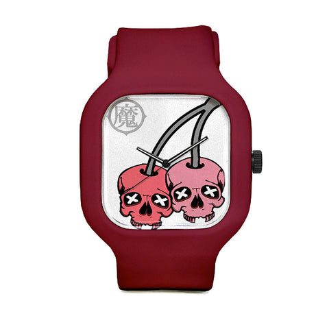 Cherry Skull Sport Watch