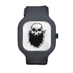 Black Beards Skull Sport Watch
