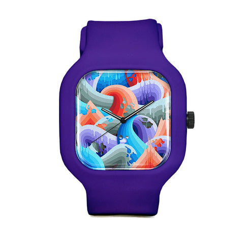 Ricky Watts Swirls Sport Watch