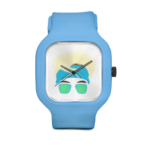 Blond Sport Watch