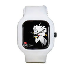 Betty Boop Black Sport Watch