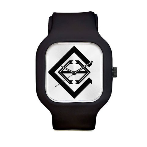Clinton Logo Sport Watch