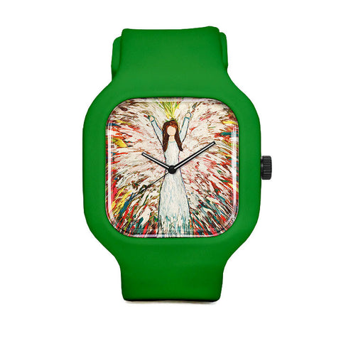 Color Your World with Love Sport Watch