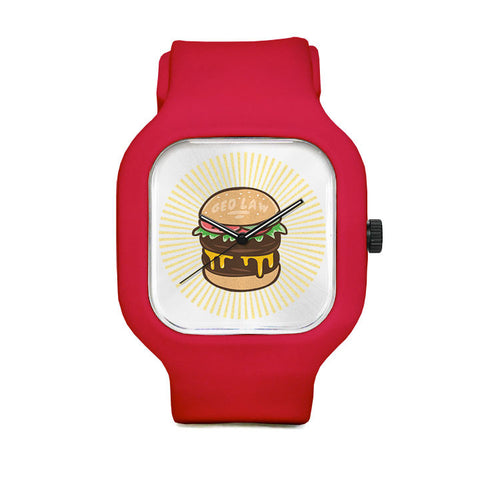 Burger Time Sport Watch