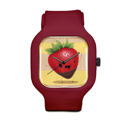 ChocoStrawberry Sport Watch
