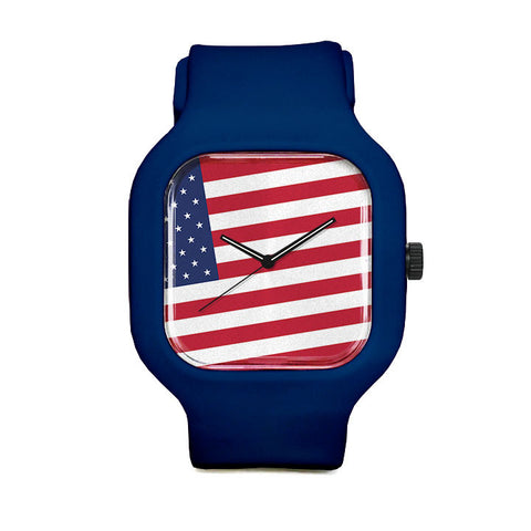 American Flag Sport Watch