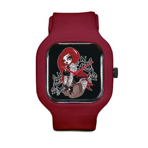 Red Head Sport Watch