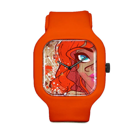 Ginger Smirk Sport Watch