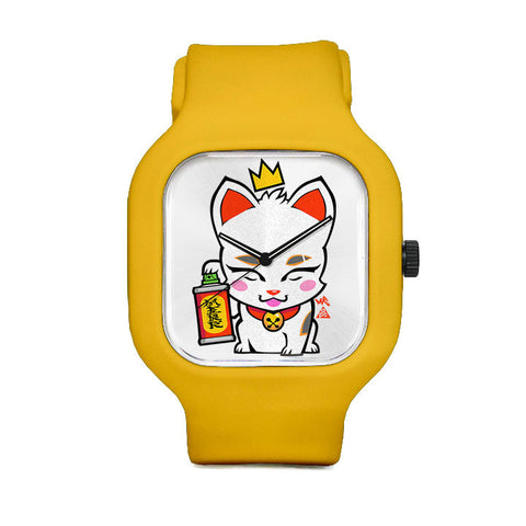 Lucky Cat Sport Watch