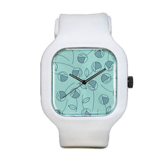 Speckled Flowers Sport Watch