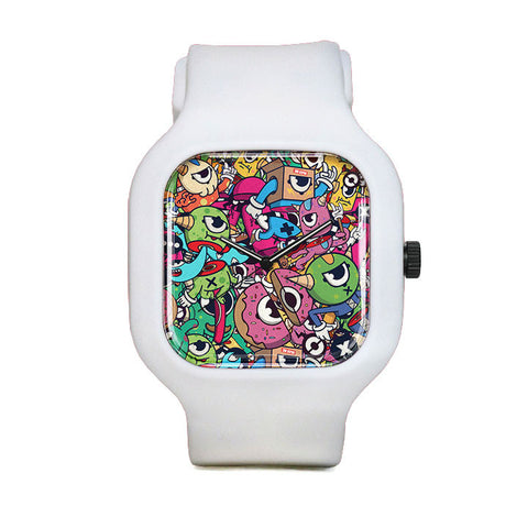 Sliced Monsters Sport Watch
