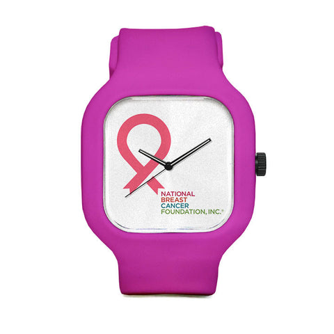 Small Pink Ribbon Sport Watch