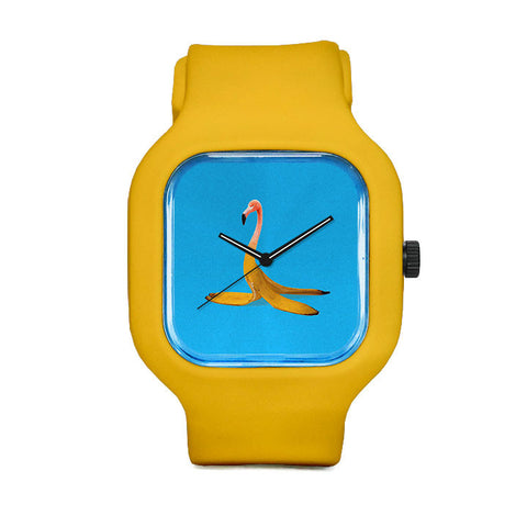 Flamingo Banana Sport Watch