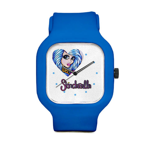 Blue Beauty Sport Watch