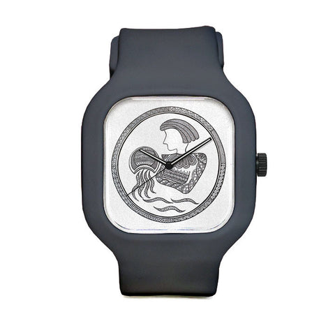 Neeti Goswami Aquarius Sport Watch
