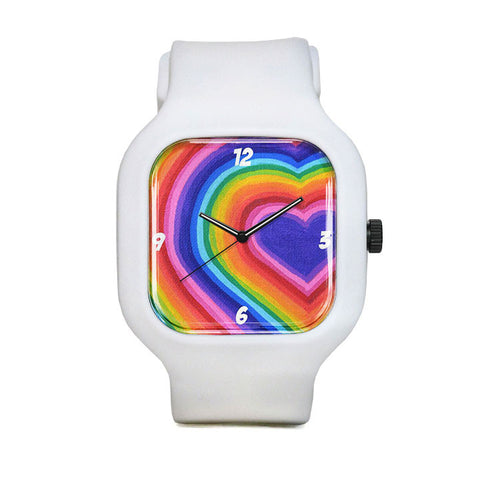 Rainbow is Love Sport Watch