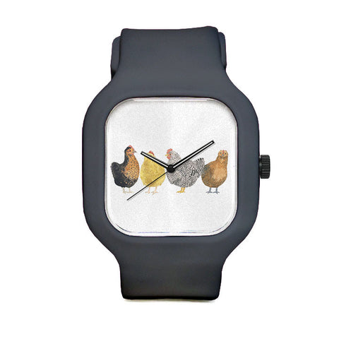 Chickens Sport Watch