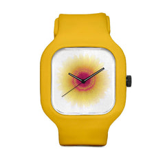 Amber Sunrise Flower Sport Watch