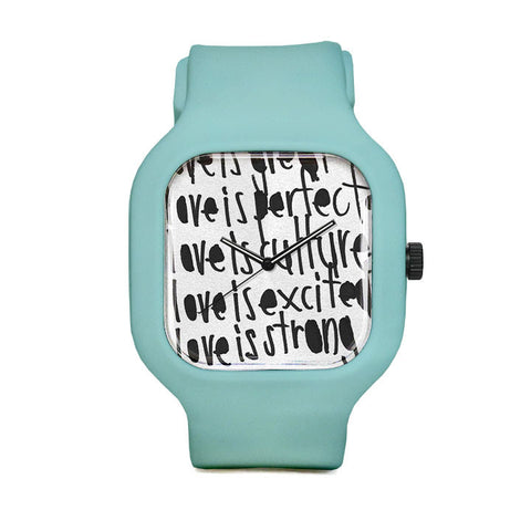 Love is Perfect by John Patrick McKenzie Sport Watch