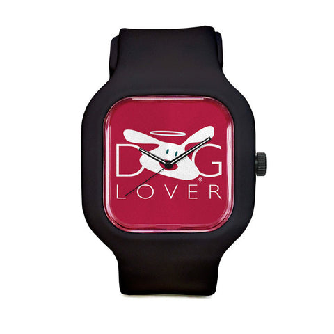Dog Lover Red Sport Watch