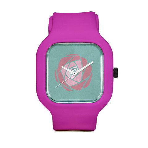 Rose Gradient Sport Watch
