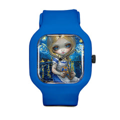 Alice in a Van Gogh Nocturne Sport Watch
