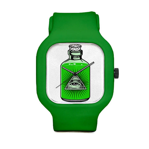Pyramid Eye Sport Watch