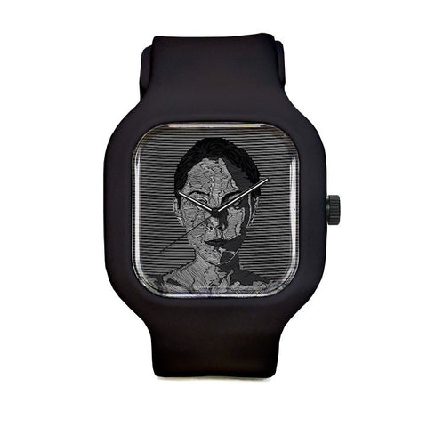 Textured Woman Sport Watch