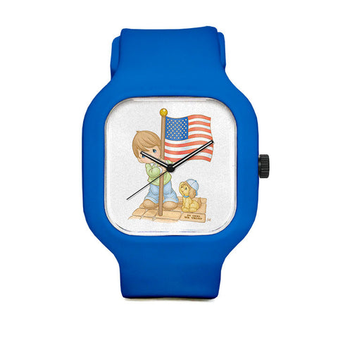 Precious Moments Flag Sport Watch