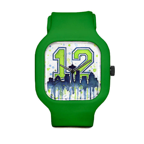 Seattle 12th Man Sport Watch