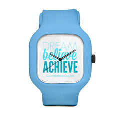 Dream Believe Achieve Sport Watch