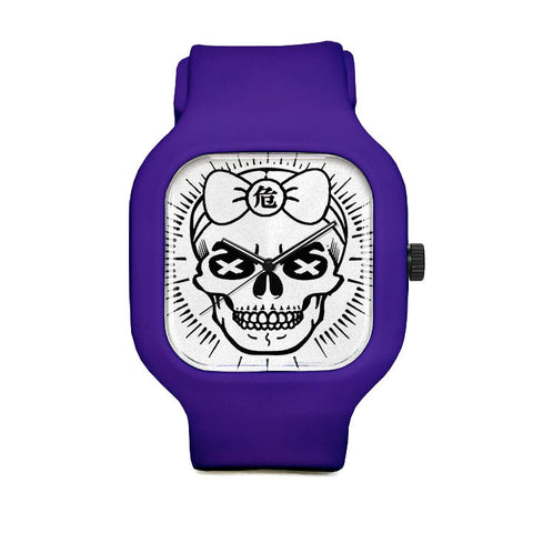 Girly Skull Sport Watch