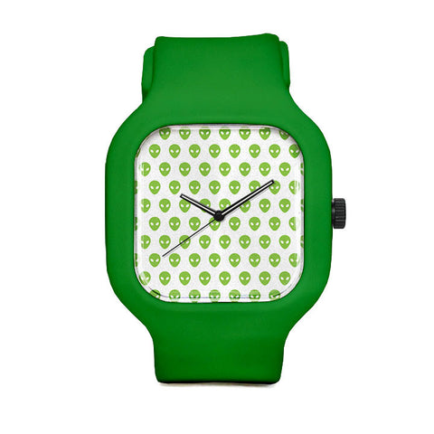 Little Green Men Sport Watch
