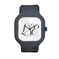 Love SCript Sport Watch