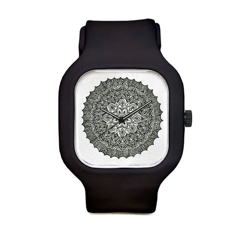 Detailed Mandala Sport Watch