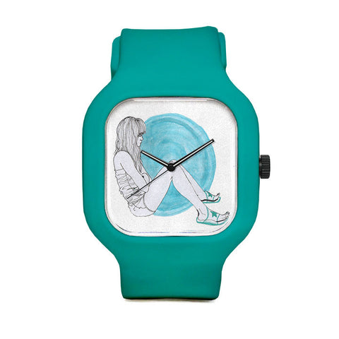 Blue Girl Sport Watch