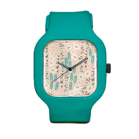 Floral Collection Sport Watch
