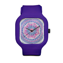 Blue Mandala Sport Watch