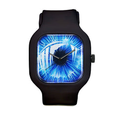 Blue Iris Sport Watch