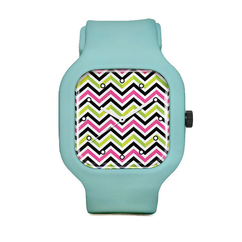 VanyNanyZigZag Sport Watch