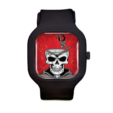 small skull Sport Watch