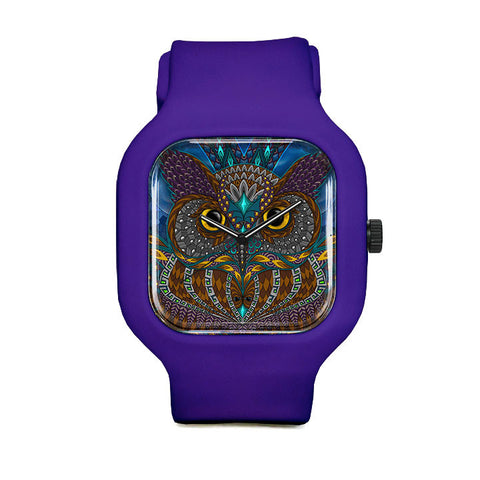 Owl Eyes Sport Watch