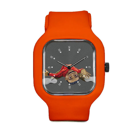 Upside Down Sport Watch