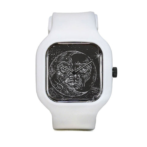 Moon Face Sport Watch