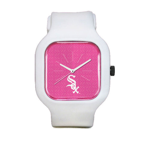 Pink Chicago White Sox Sport Watch