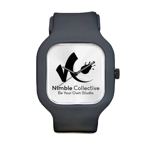 Nimble Black Sport Watch